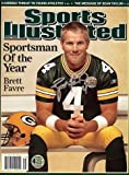 Brett Favre Autographed/Signed Sports Illustrated