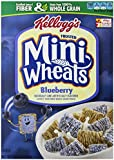 Kellogg's Frosted Mini Wheats Bite Size Blueberry Muffin 15.5-ounce (Pack of 4)