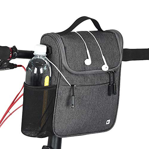 Rhinowalk Bike Handlebar Bag,Bike Front Bag Road Bike Bag Bike Frame Bag Bike Basket Bag Bicycle Bag Professional Cycling Accessories