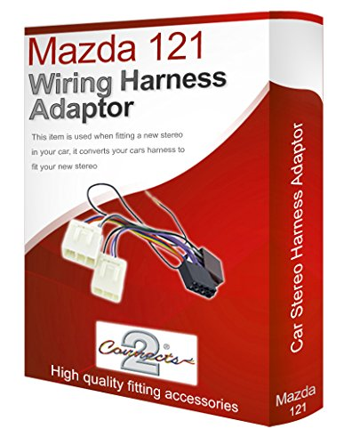 Mazda 121 radio stereo wiring harness adapter lead loom: Amazon.co.uk: Electronics