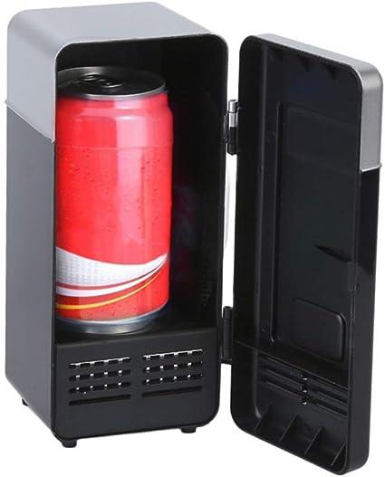 Comtervi - Mini Nevera portátil con USB para Bebidas, 19,4 x 9 x 9 ...
