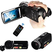 1080P Full HD Video Camera, Bolayu 24MP LCD Touch Screen Digital Camcorder DV