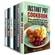 Quick Minimalist Cooking Box Set (6 in 1): Over 200 Pressure Cooker, Cast Iron, Air Fryer, Vegan and Vegetarian Meals to Make in No Time and Save Money