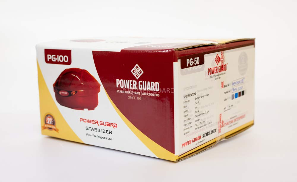 Power Guard Refrigerator Stabilizer Up To 320ltr Pg50 Amazon In Electronics