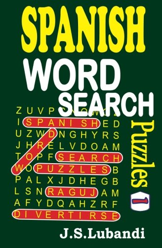 Spanish Word Search Puzzles product image