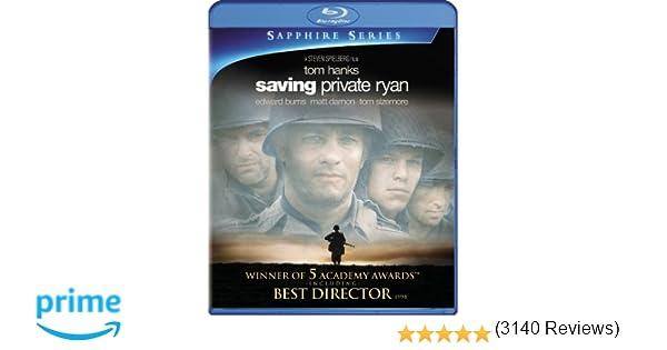 Amazon.com: Saving Private Ryan (Sapphire Series) [Blu-ray]: Tom ...