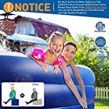 GOOGO Family Inflatable Swimming Pool, Full-Sized
