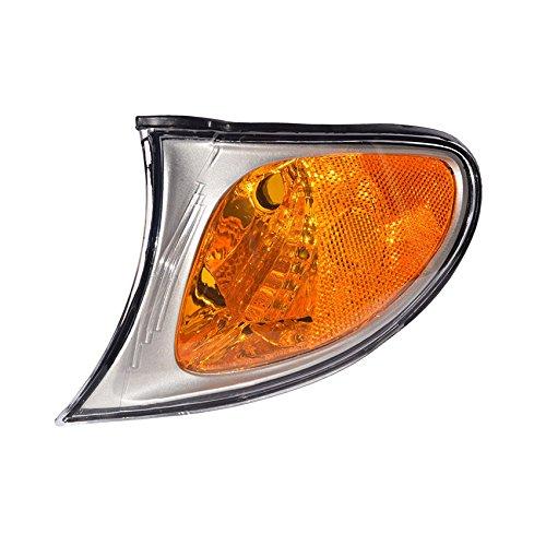 NEW LEFT WHITE TURN SIGNAL LIGHT FITS BMW 330XI 2002-05 BM2520110 63136915383 63-13-6-915-383 63 13 6 915 ()