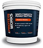 THE PROTEIN WORKS Peanut Butter - Simply Smooth, 1 kg