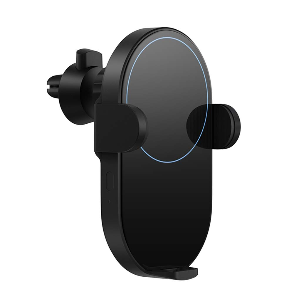 CARWORD Wireless Car Charger 20W Max Electric Auto Pinch 2.5D Glass Ring Lit Charging for Xiaomi Mi Smartphone