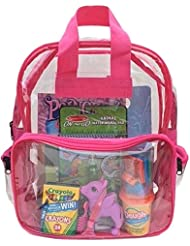 BusyBags - Activity Travel Bags for Kids - Boys & Girls bags - Hours of Quiet Activities - Durable See Through...