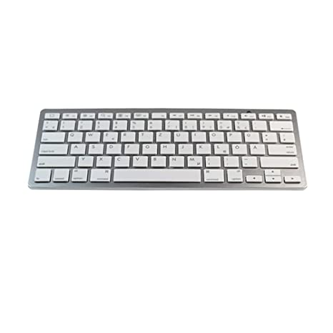 9d5d3dd299b LoMe Ultra-Thin Mini Bluetooth 3.0 Keyboard with Multiple Multimedia Function  Keyboards, Support for
