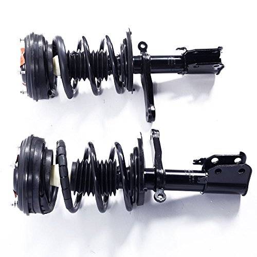 MILLION PARTS 2 Pcs Front Complete Strut Shock Absorber Assembly 171667 171668 for Chrysler 1999-2004 300M 1998-2004 Concorde 1999-2001 LHS Dodge 1998-2004 Intrepid ()