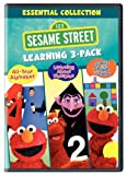 Sesame Street Learning 3-Pack (All-Star Alphabet / Learning About Numbers / Guess That Shape and Color) Image