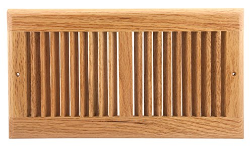 - Accord AORGOLL126 Oak Return Grille, 12-Inch x 6-Inch(Duct Opening Measurements), Light Finish