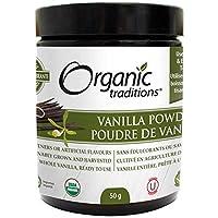 Organic Traditions Vanilla Powder, 50g