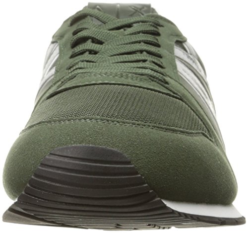 Exchange Sneaker Dark Running A Men Sneaker X Armani Fashion Moss Retro 8wTcf46HaT