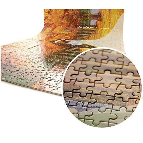 1000 Stück von Rechteck Puzzles, Menschenfreunde, Tangram Spielzeug, exquisite Geschenke, einzigartige Hauptdekoration SYLOZ (Size : 1000pcs)