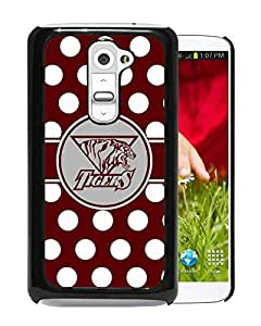 NCAA Texas Southern Tigers Black Customize LG G2 Phone Cover Case