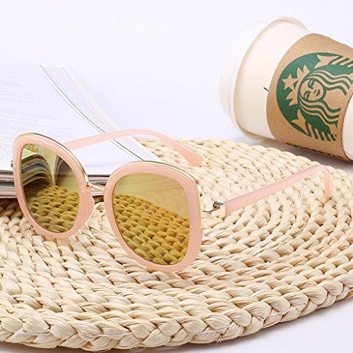 Gafas sol grande LYM con amp;Gafas de Color B sol A Gafas protecciónn de amp; Gafas de montura wvCq1OvIP