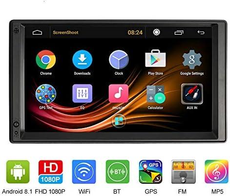 VISLONE Radio de Coche 2 Din Android Pantalla de 7 Pulgadas 1G / 16G 4 Core Multimedia Radio de Coche GPS Navegación Entretenimiento Multimedia con WIFI FM / AM Mirror Link Music