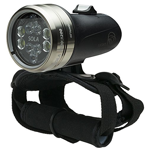 Light & Motion Sola Dive 2500 S/F, Black/Titanium