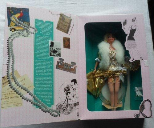 Mattel Barbie Doll 1993 : 1920's Flapper Barbie From Great Era's]()