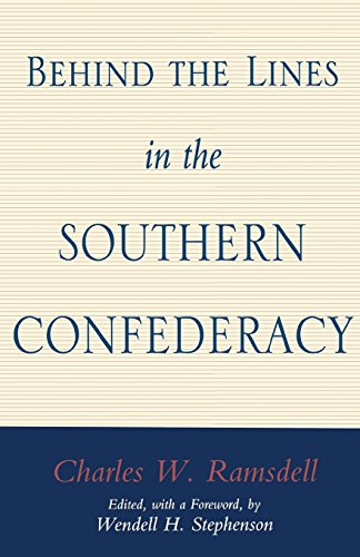 Ramsdell Line (Behind the Lines in the Southern Confederacy)