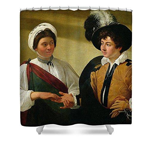 Clairvoyant Costume (Pixels Shower Curtain (74