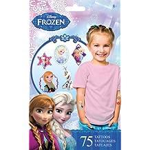 Disney Frozen Temporary Tattoos - 75 Assorted Temporary Tattoos