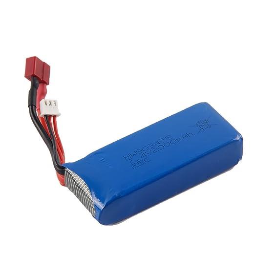 Para Syma X8 X8C X8W 7,4 V 2000 mAh batería Lipo batería RC ...
