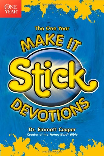 The One Year Make-It-Stick Devotions (One Year Books)