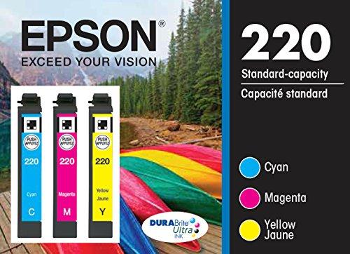 Epson T220520 DURABrite Ultra Color Multi-Pack Ink Cartridge