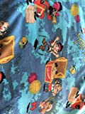 Country Snuggles Jake and The The Neverland Pirates Fleece Blanket and Pillowcase (56'' W x 88'' L)