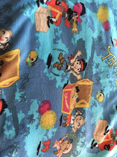Country Snuggles Jake and The The Neverland Pirates Fleece Blanket and Pillowcase (56