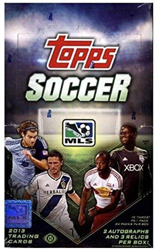 2013 Topps MLS Major League Soccer Hobby Box - 2 Autos/3 Relics Box
