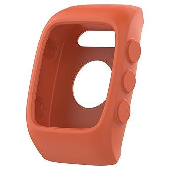 en Silicone Souple Housse de Protection pour Montre connectée Polar M430/ montre GPS M400 Coque