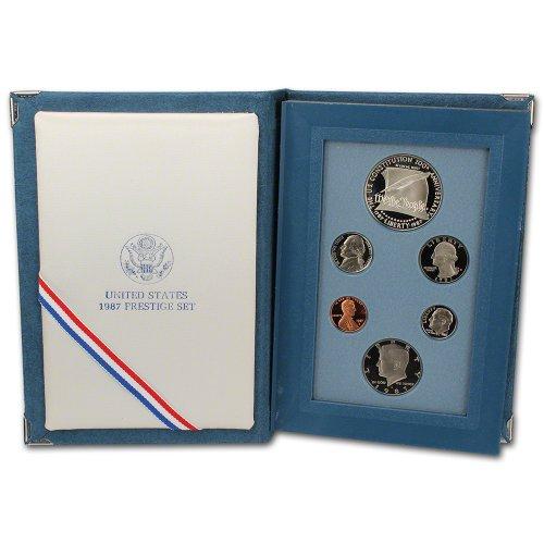 1987 Coin (1987 US Mint Prestige Proof Set Original Government Packaging)