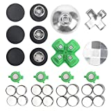 xbox one bumper mods - ElementDigital PS4 Controller Thumbsticks Replacement Parts Buttons Kits for Mod PlayStation 4 Controller (31 Pcs)