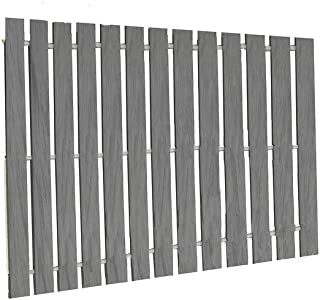 product image for Furniture Barn USA 2 Ft. Wide Roll-Up Walkway/Boardwalk in PVC Deck Board - 7 Ft Length in Dusk Gray