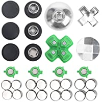 ElementDigital Xbox One Controller Thumbsticks Replacement Parts Buttons Kits for Xbox one, Xbox one Elite Controller, PS4 Controller, Nintendo Switch Pro Controller Mod (31 Pcs)