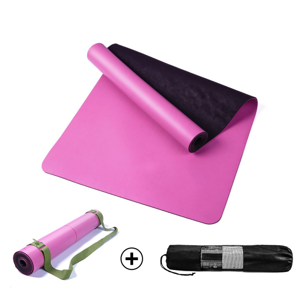 DHG Alfombrillas de Yoga de Caucho Natural de 5 mm ...