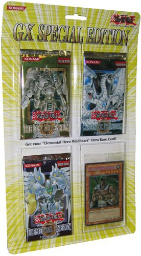 Yugioh! GX Special Edition Blister Pack (3 packs + 1 promo) (Sealed Blister Pack)