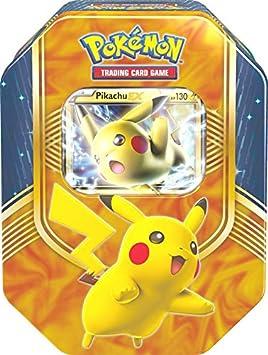 Pokèmon - Tarjetas Caja de la Lata 63 Pikachu: Amazon.es: Juguetes y juegos