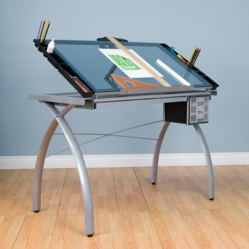 Top 10 best drafting table reviews your perfect one 2018 for 10050 futura craft station