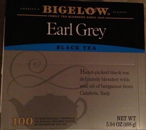 Bigelow Earl Grey Black Tea - 100 Tea Bags (Full Size)