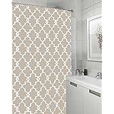 Vandarllin Geometric Patterned Waterproof 100 Polyester Fabric Shower Curtain For Bathroom 72 X 84