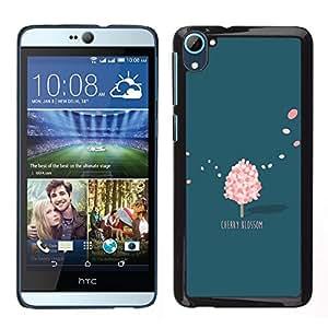 """Dragon Case - FOR HTC Desire D826 - """"Everything is going on - Caja protectora de pl??stico duro de la cubierta Dise?¡Ào Slim Fit"""