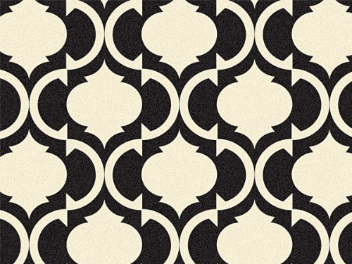 Tiles Black & Ivory Recycled 240~20''x30'' Sheets Tissue Prints (240 Sheets) - WRAPS-P1302 by Miller Supply, Inc.