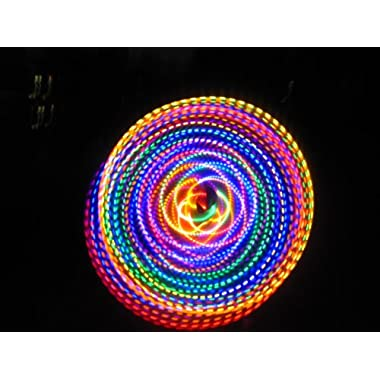36  - 24 Strobing LED Hula Hoop - THE FUSION
